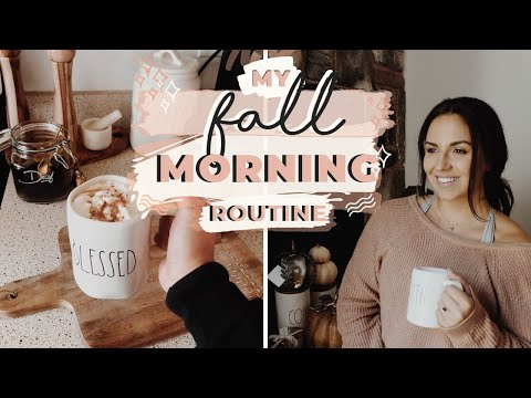 COZY FALL MORNING ROUTINE 2019 | Healthy Habits + The BEST Coffee Recipe thumbnail