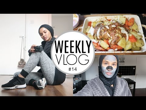 Weekly Vlog: FIRST TIME AT THE GYM, PAMPER ROUTINE, LIDL SHOP +A RECIPE| Zeinah Nur