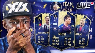 FIFA 19 TEAM OF THE YEAR PACKS!!!