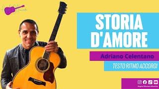 Storia d'Amore - Adriano Celentano - Chitarra