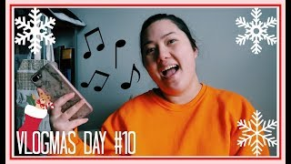 MY CHRISTMAS PLAYLIST // Vlogmas Day 10