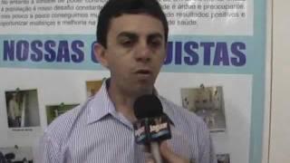 PREFEITO PALHANO ENTREGA POSTO DE SAUDE