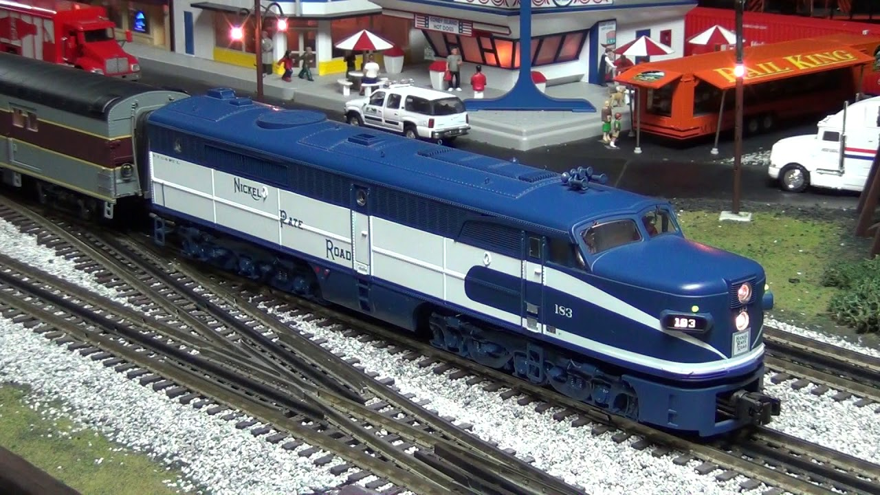 MTH O-Scale NKP City of St Louis `Blue Arrow` Product Review (Stockyard  Express Exclusive)