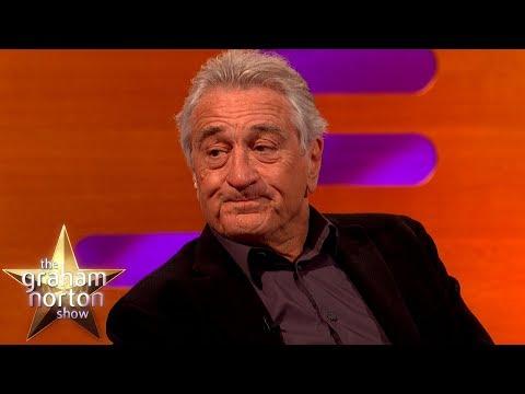 Robert De Niro Compares Donald Trump To A Gangster   The Graham Norton Show