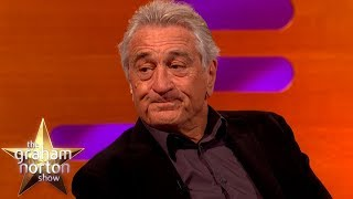 Robert De Niro Compares Donald Trump To A Gangster | The Graham Norton Show