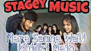 Stagey Music | One Take | Mere Samne wali Khidki Mein | Cover by karan Nawani