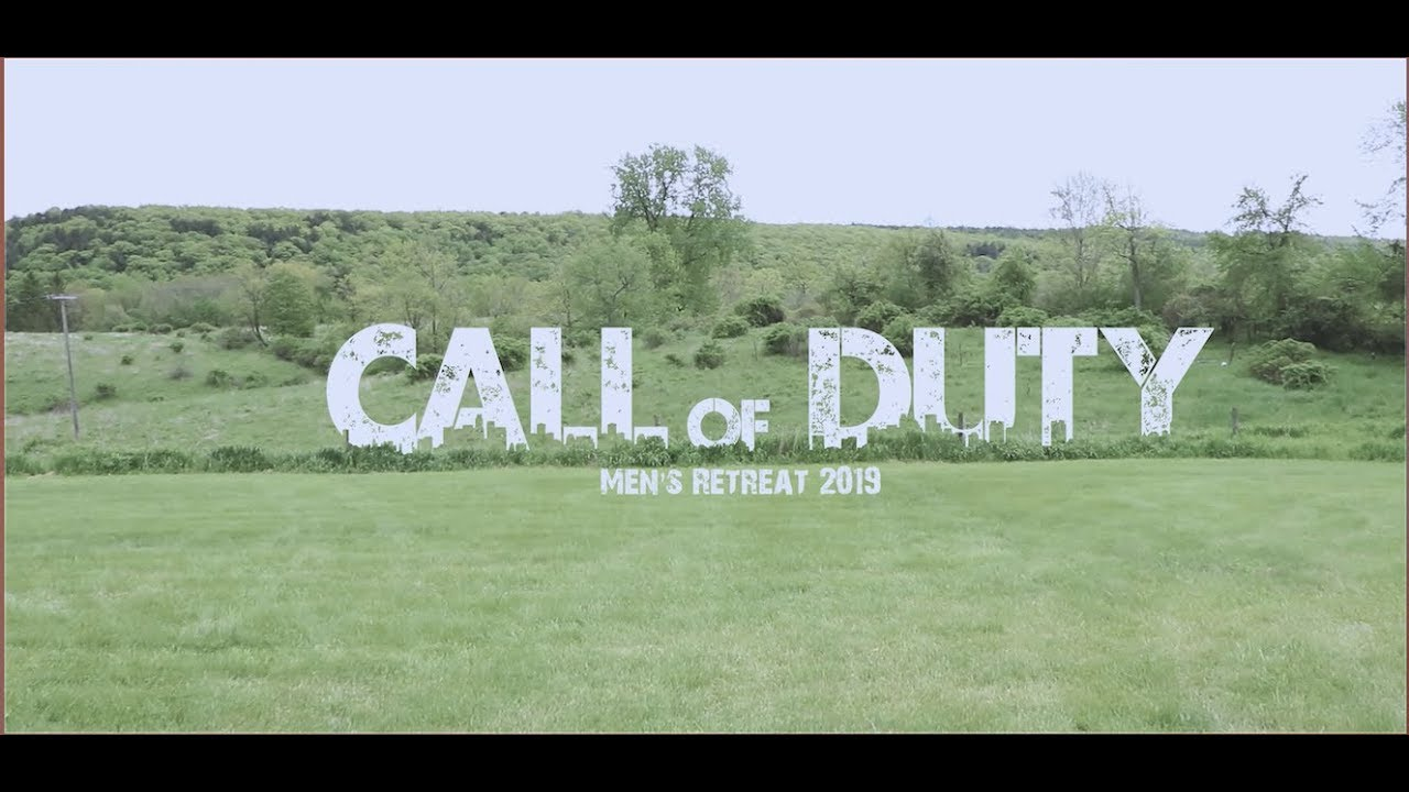 Call Of Duty 2019 TAPESTRY CHURCH MEN'S RETREAT