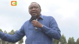 Uhuru tears down 'UNGRATEFUL' Governor Ruto