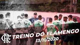 Flamengo faz último treino antes da estreia de Rogério Ceni pelo Brasileiro