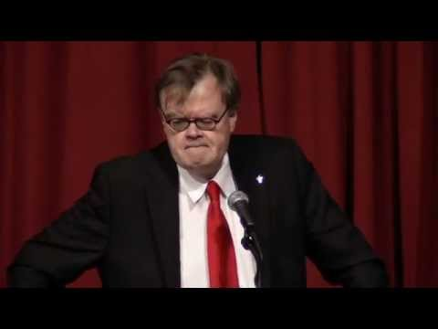 Garrison Keillor - Friends of the University of Minnesota Libraries Annual Dinner