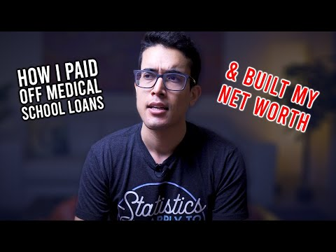 Finances 80/20 - How I Paid Off My Med School Loans & Investing Strategy
