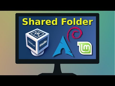 How to enable a Virtualbox shared folder for Debian, Linux Mint/Ubuntu, Arch Linux guest systems