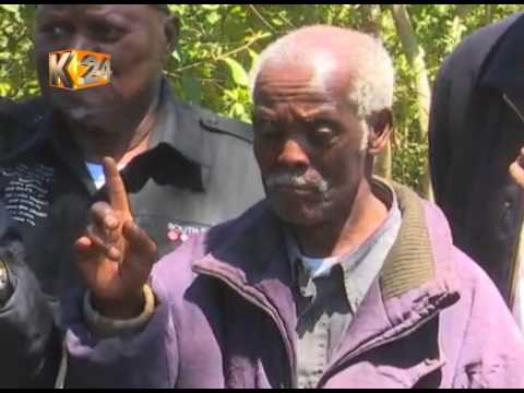Kikuyu elders hold traditional prayers, rituals for Tuesday's election