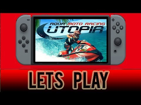Aqua Moto Racing Utopia -  Multiplayer  Nintendo Switch Gameplay
