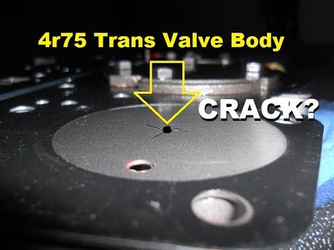 4r75 Trans Valve Body Do You Think This Is The PROBLEM