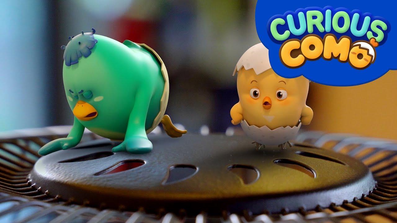 Download Curious Como   a Fan   Cartoon video for kids   Como Kids TV