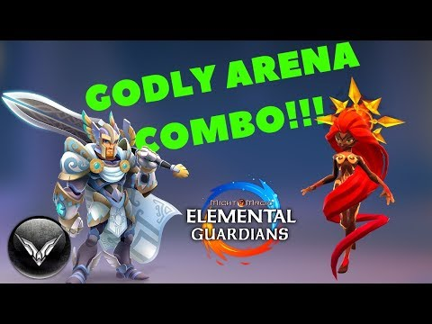 MMEG AMAZING ARENA COMBO Might And Magic Elemental Guardians
