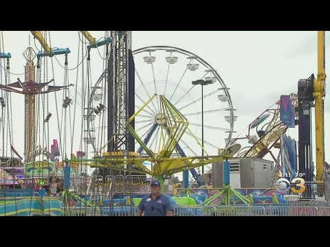 Andi and Kenny  - Two People Injured After Incident with Ferris Wheel at York Fair