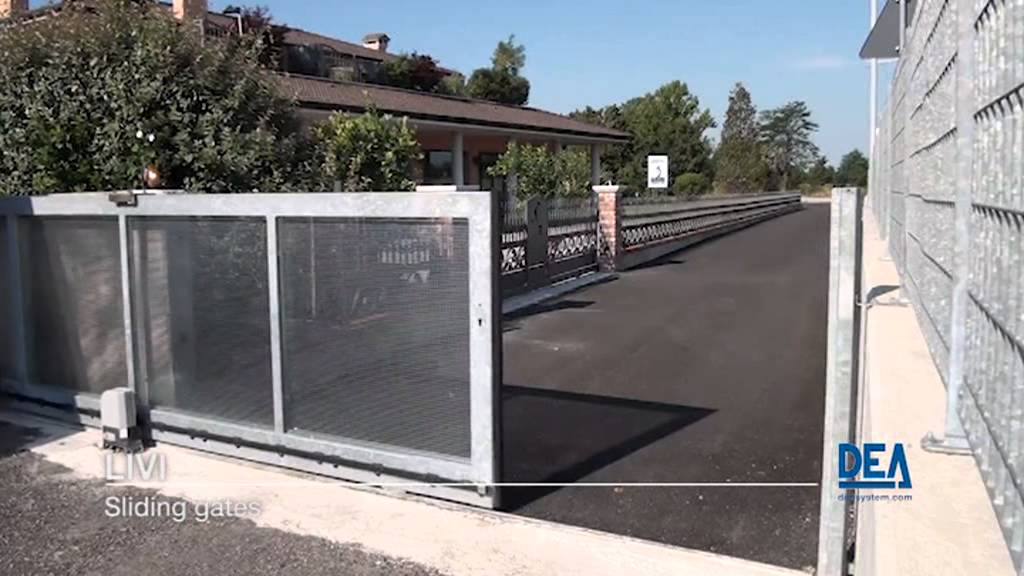 """Automazione per cancelli scorrevoli - """"LIVI"""" by Dea System - YouTube"""
