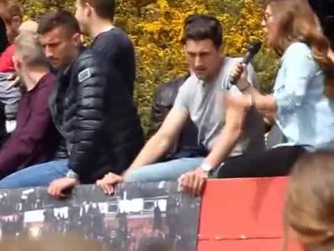 Victory Parade Tommy Elphick interview