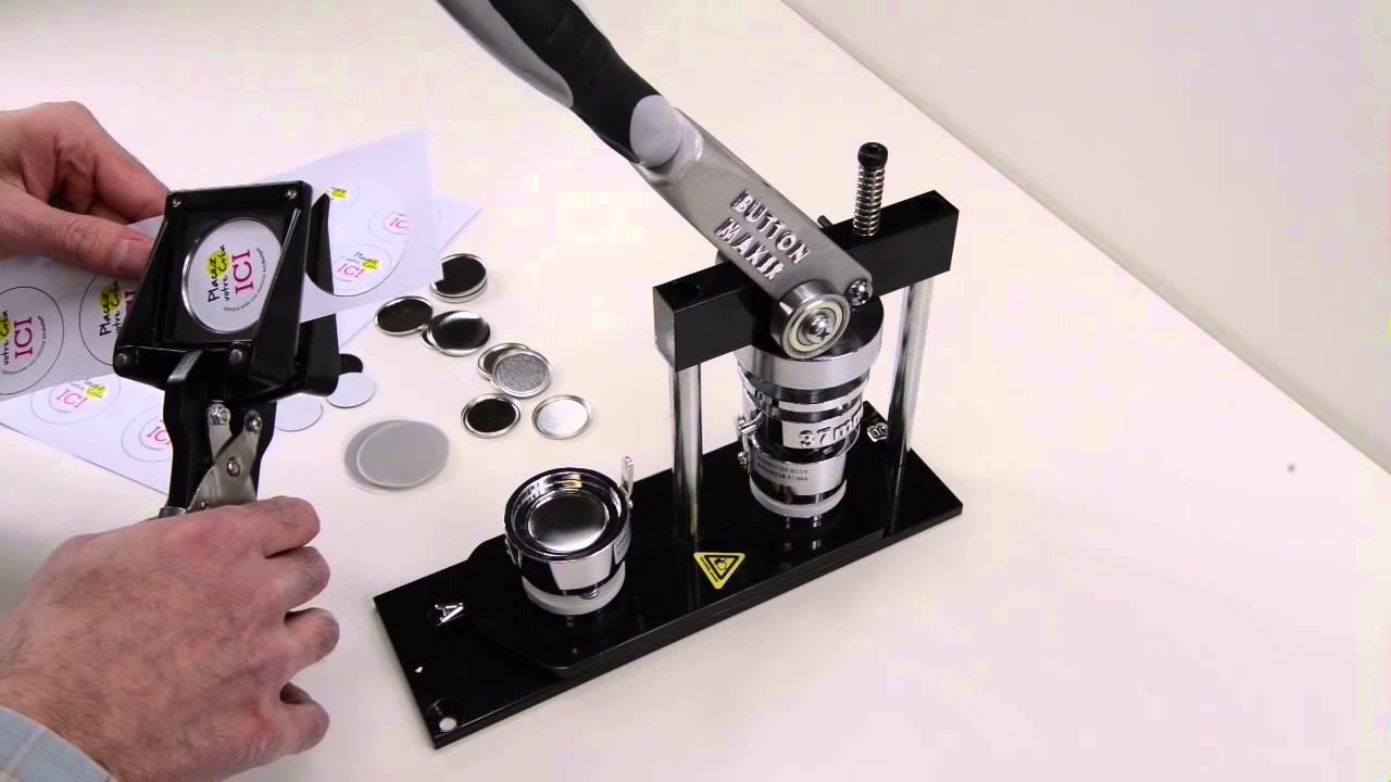 art badges comment fabriquer un magnet aimant youtube. Black Bedroom Furniture Sets. Home Design Ideas