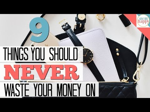 Things You Should Never Buy -  Vlogmas #3 - Frugal Living Tips