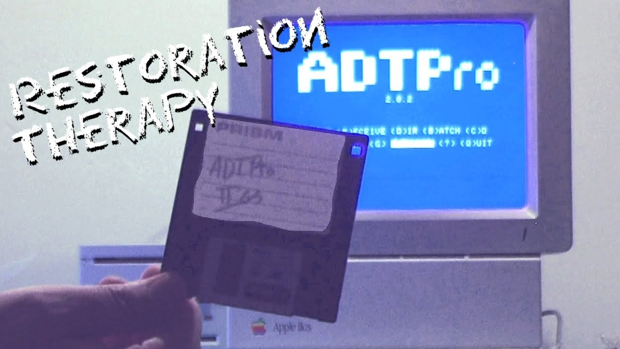 ADTPro: Serial Bootstrapping Your Apple IIgs