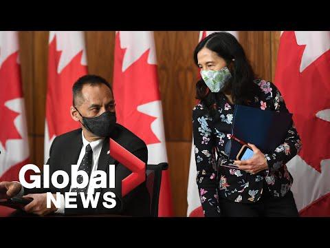 Canadian officials discuss
