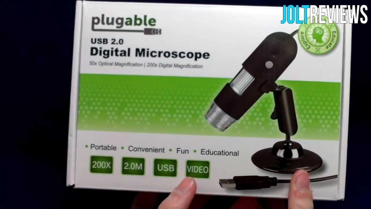 Plugable usb microscope review plugable youtube