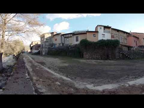 Hervás y el río Ambroz - Video 360