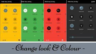 Change Notification Panel Colour & Look | Customise Notification Bar