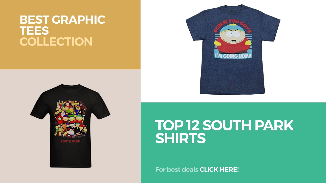 42c73a014bc3a Top 12 South Park Shirts    Best Graphic Tees Collection - YouTube