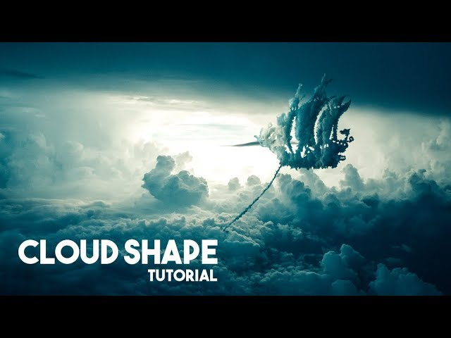 How to Create Any Cloud Shape in Photoshop