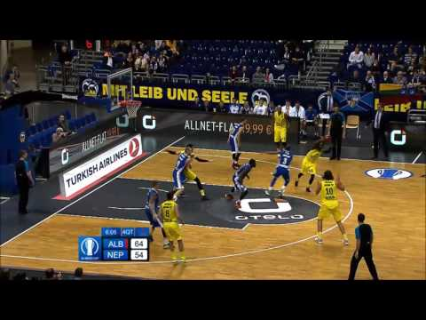 Rob Lowery (Alba Berlin) 2015/16 Highlights