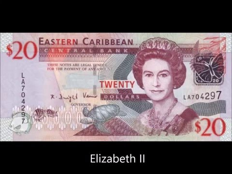 BANKNOTES EAST CARIBBEAN STATES 2008 ISSUE