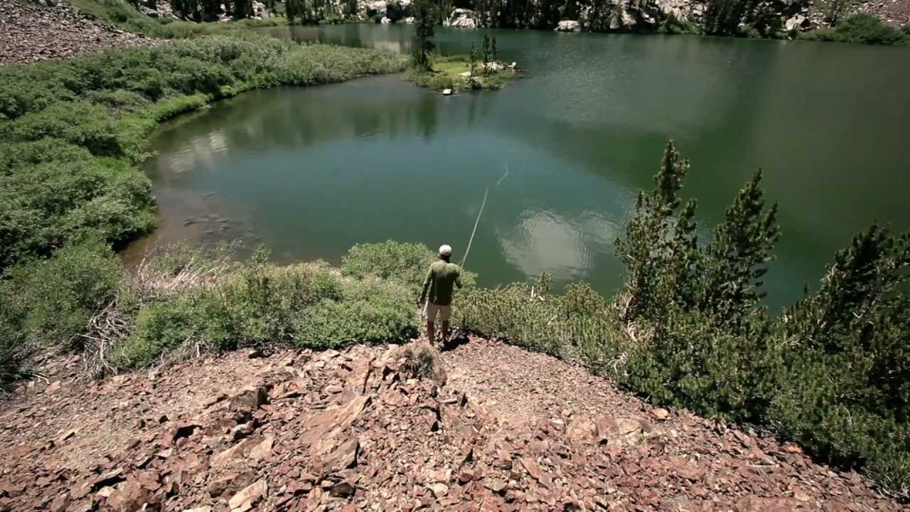 Trout fly fishing sierra nevada california red truck for Trout fishing southern california