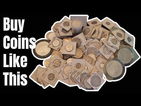 Silver Coin Buying: How I Buy Huge Coin Collections