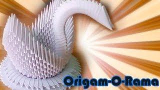 vuclip CISNE de 400 piezas (#origami3D)