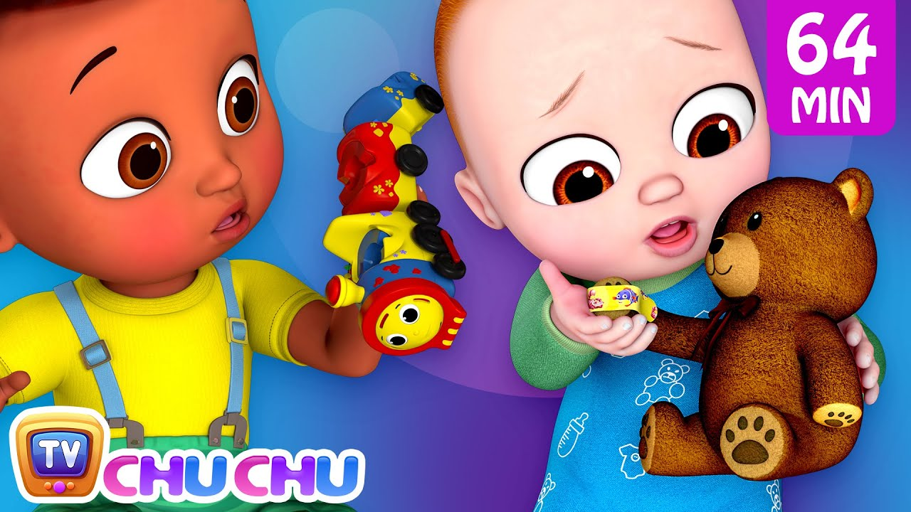 The Boo Boo Song 2 with Toys + More @ChuChu TV Nursery Rhymes & Kids Songs