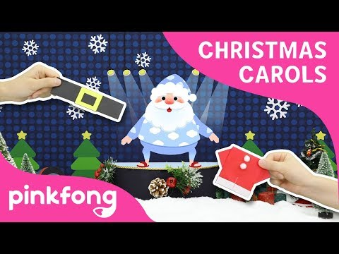 the-santa-song-|-christmas-carols-|-origami-|-pinkfong-songs-for-children