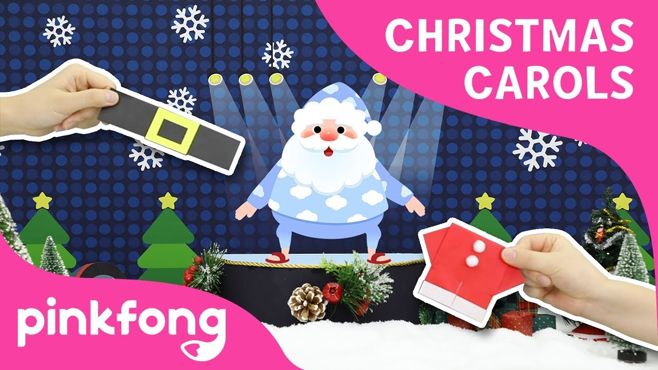 The Santa Song | Christmas Carols | Origami | Pinkfong Songs for Children