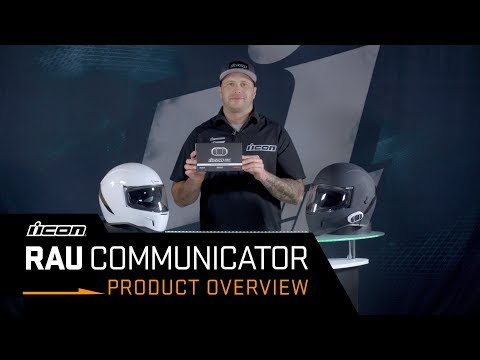 ICON - Product Overview // RAU Motorcycle Bluetooth Communicator