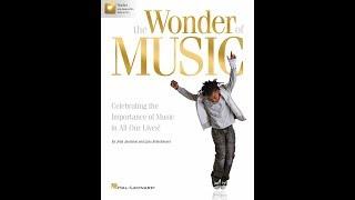 The Wonder of Music - by John Jacobson and Lynn Brinckmeyer