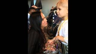 Connor The Crusher meets AJ Lee