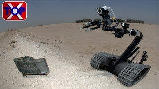 Unmanned landmine excavator invention