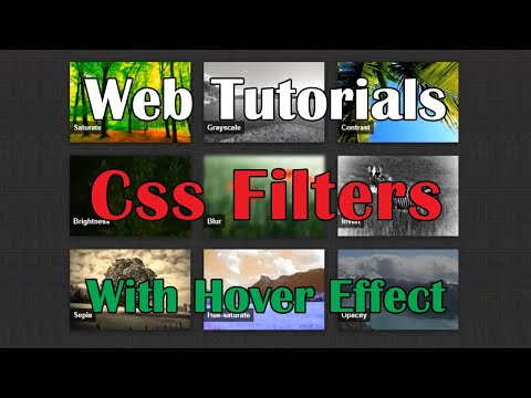 Simple hover effects with CSS filters(Web Tutorials - Уроки на CSS3 и webkit , HTML5) HD thumbnail