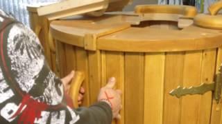 видео Кедровая фито-бочка