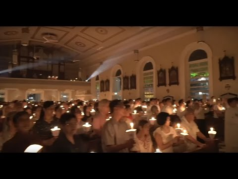 Easter Vigil 2017 @ Cathedral Of The Good Shepherd