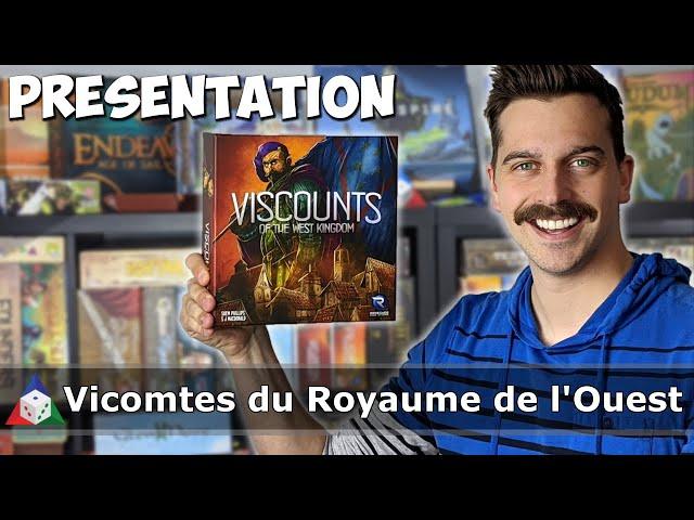 Vicomtes du Royaume de l'Ouest - Présentation du jeu