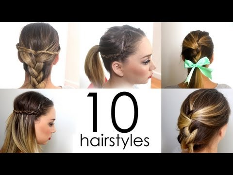 10-quick-&-easy-everyday-hairstyles-in-5-minutes